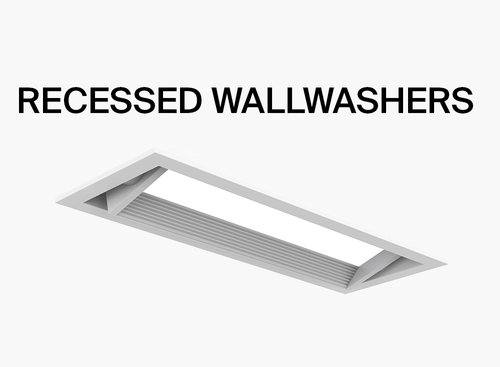 recessed wallwashers