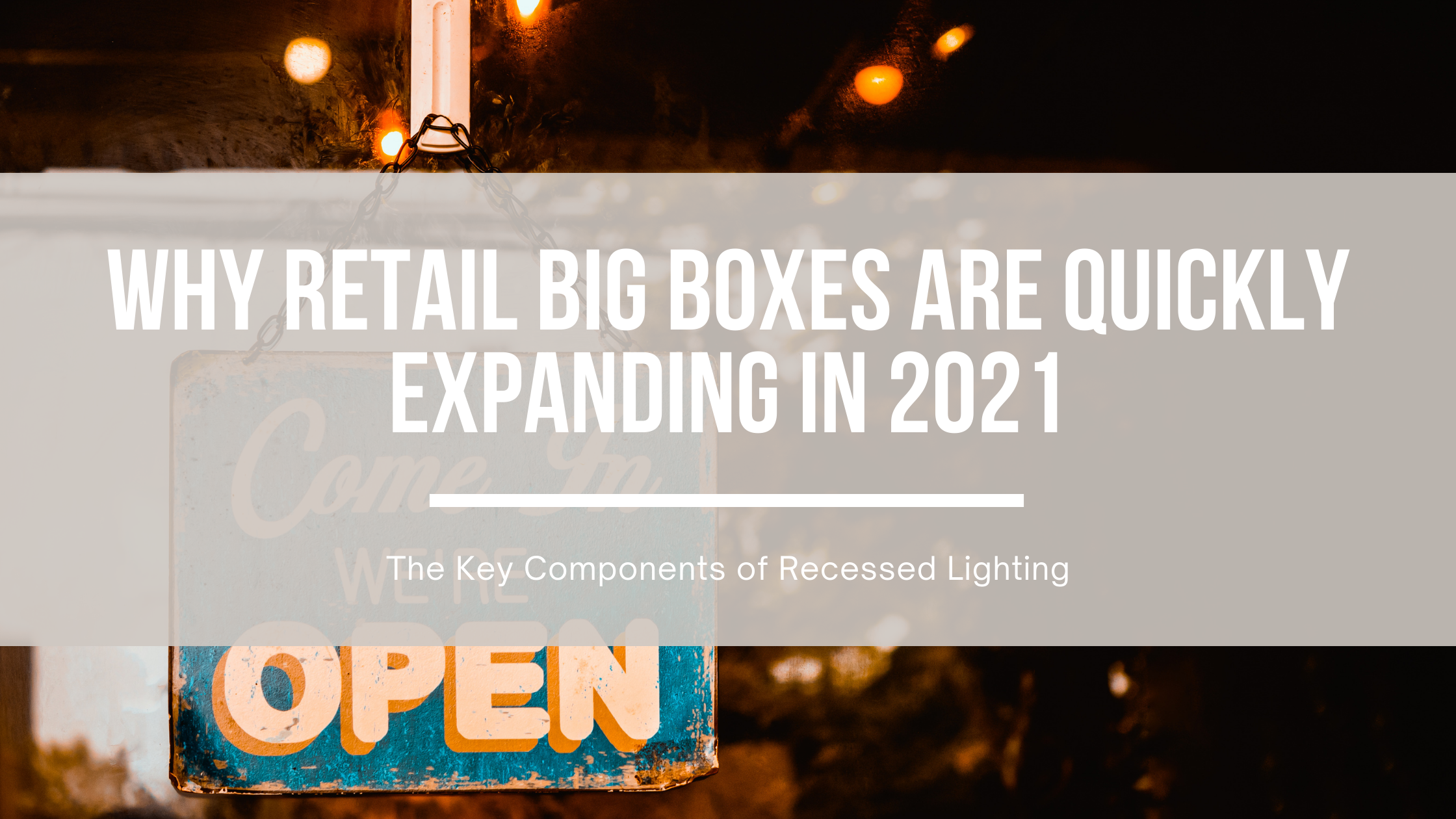Why Retail Stores Are Expanding in 2021